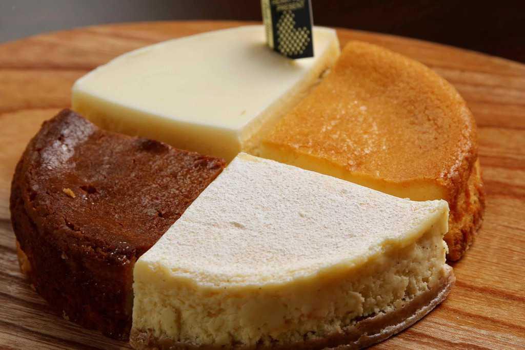 チーズケーキ専門店 Buono Buono(ボーノボーノ)の4種のアソートチーズケーキ