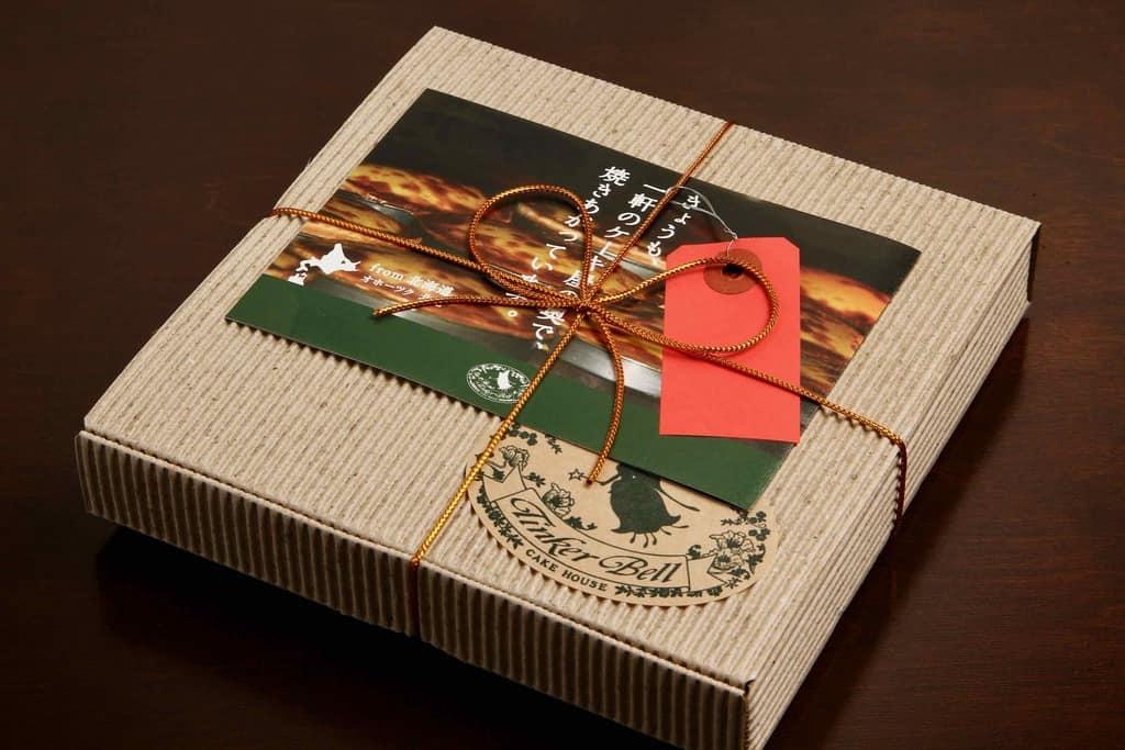 お取り寄せスイーツ・ティンカーベルのチーズベーク、北海道のお取り寄せチーズケーキ