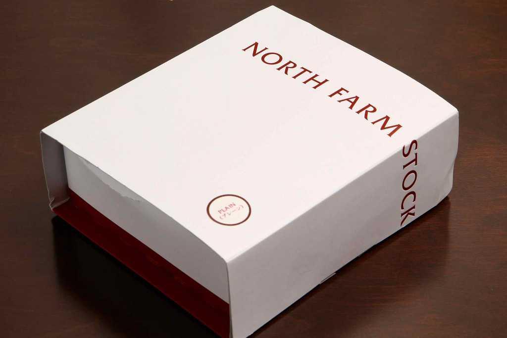 お取り寄せスイーツ・北海道「NORTH FARM STOCK」のベイクドレアチーズケーキ プレーン、北海道のお取り寄せチーズケーキ