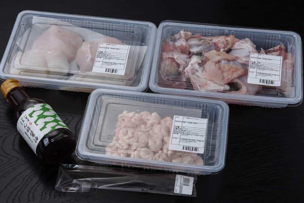 北釧水産から届いた道東産「寒」真鱈の切り身とたち(白子)鍋セット・アラ付き約2~3人前のパッケージ、通販・お取り寄せ鍋料理