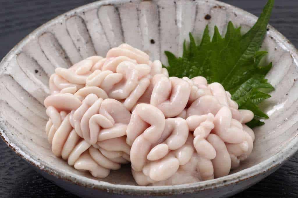 プリップリの真鱈の白子軽く湯通しした真鱈の白子