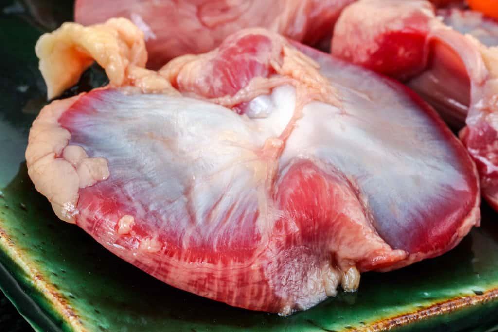 比内地鶏の砂肝(砂ずり)