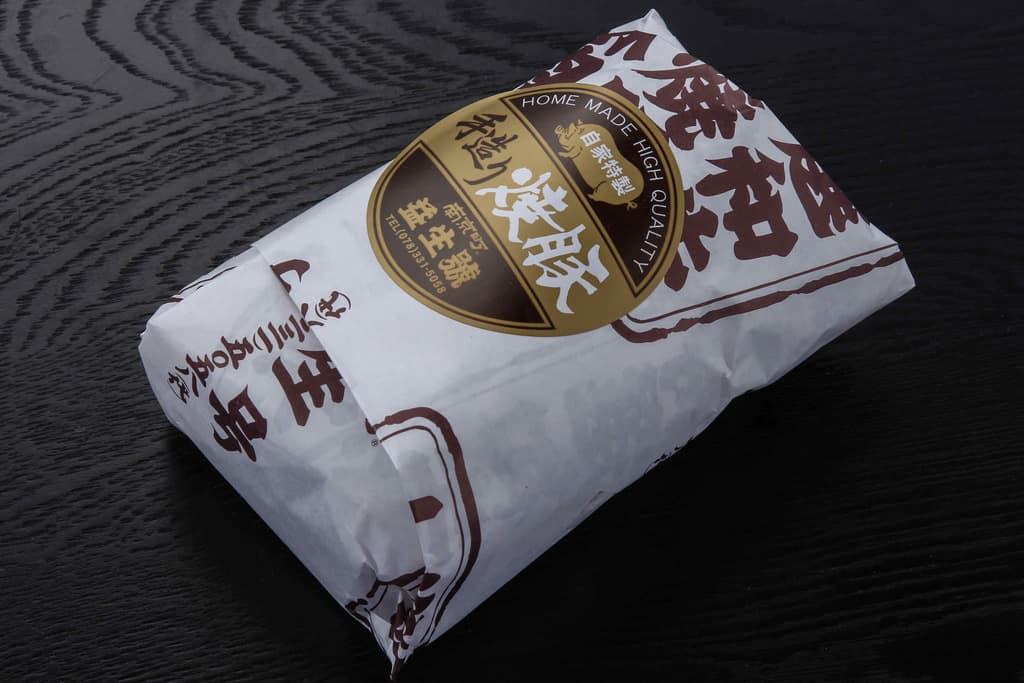 益生號の焼豚ロースのパッケージ