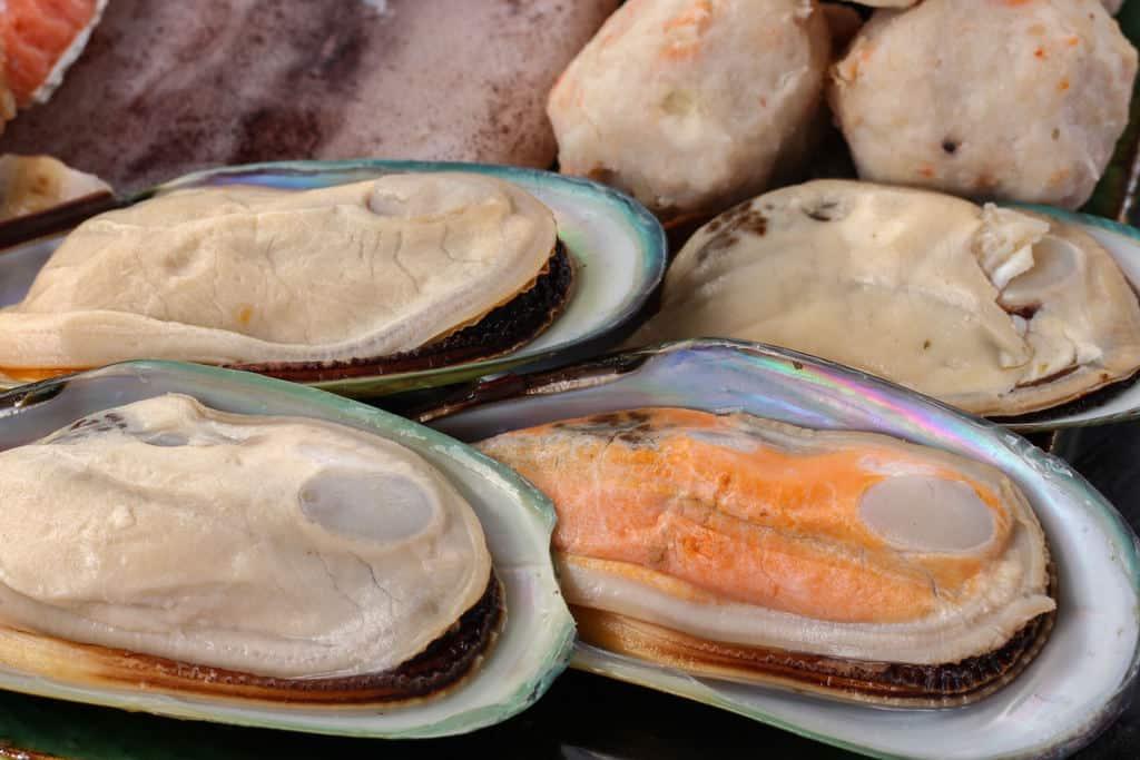 北海道石狩鍋に入れるパーナ貝