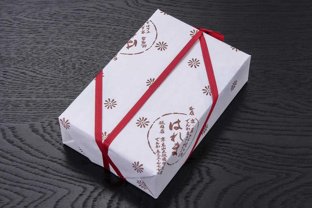 京都はれまのチリメン山椒のパッケージ