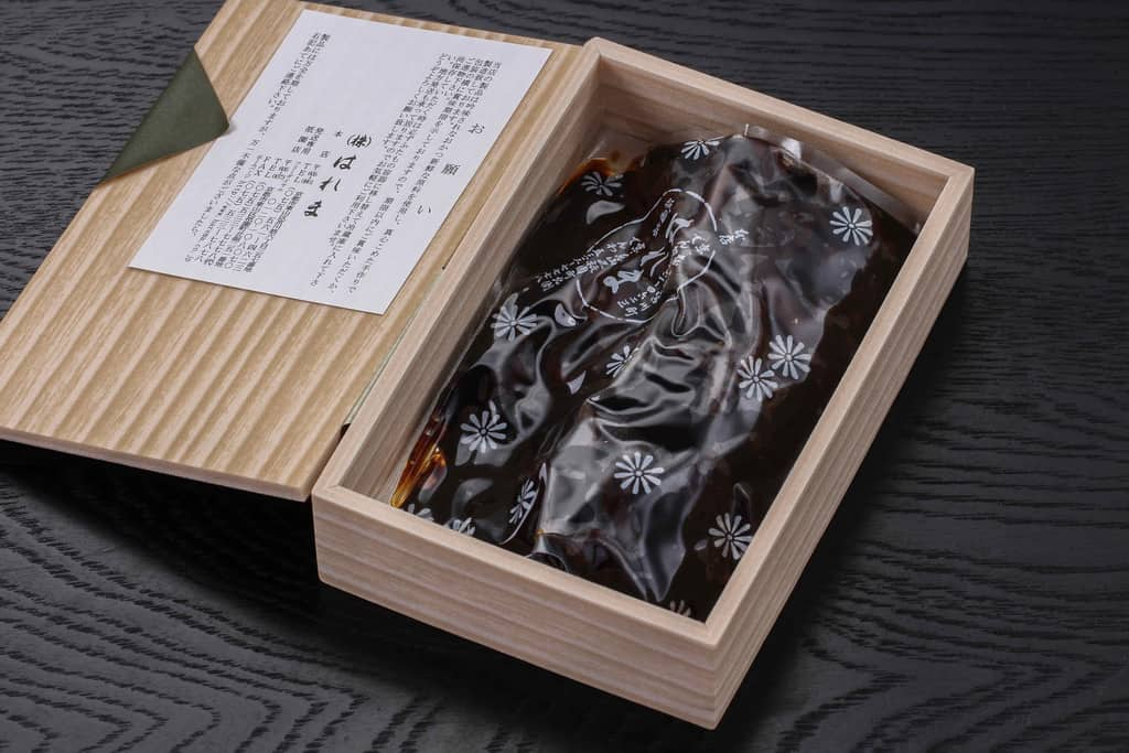 折詰の中の野菜昆布