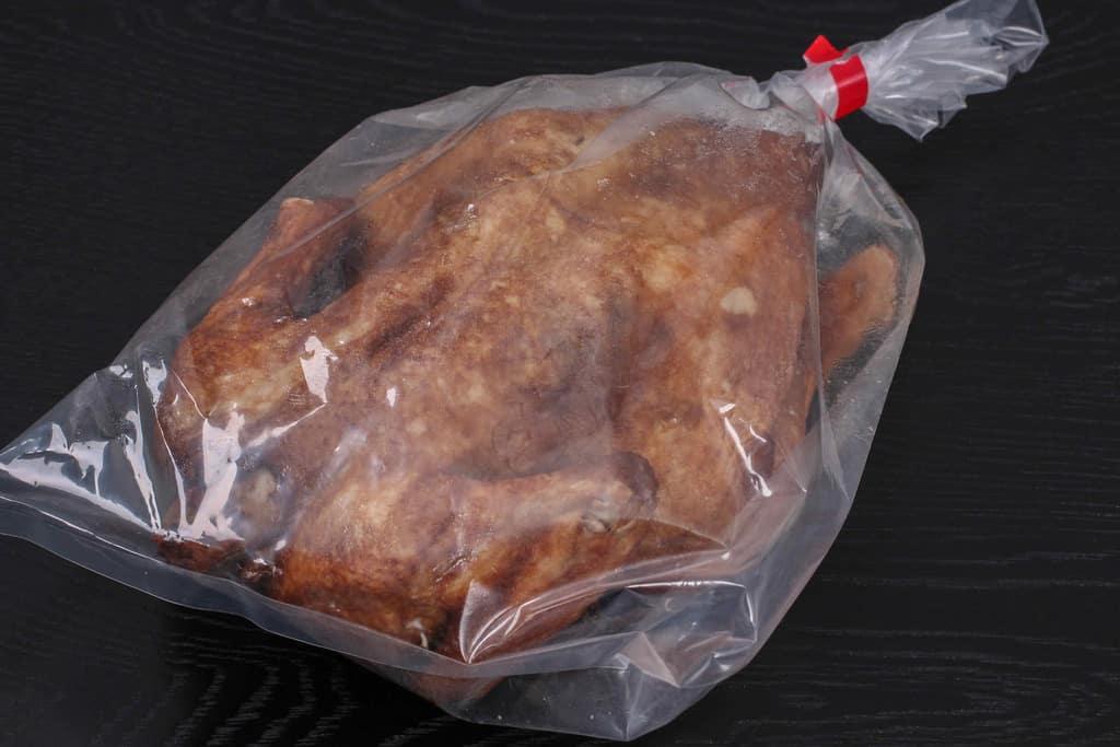神戸南京町の劉家荘から取り寄せた焼鶏のパッケージ