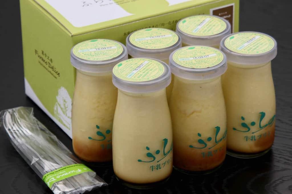 菓子工房フラノデリスの「ふらの牛乳プリン6本セット」、北海道のお取り寄せプリン