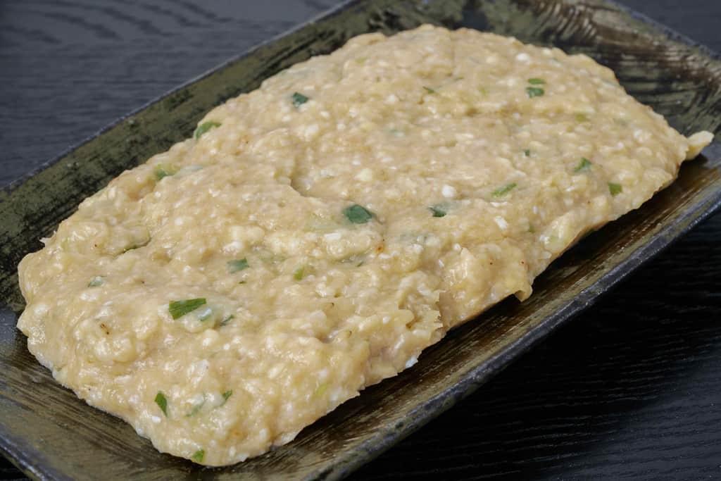 かしわの川中の地鶏とり鍋セット具材の地鶏ソフト味付けミンチ約200g