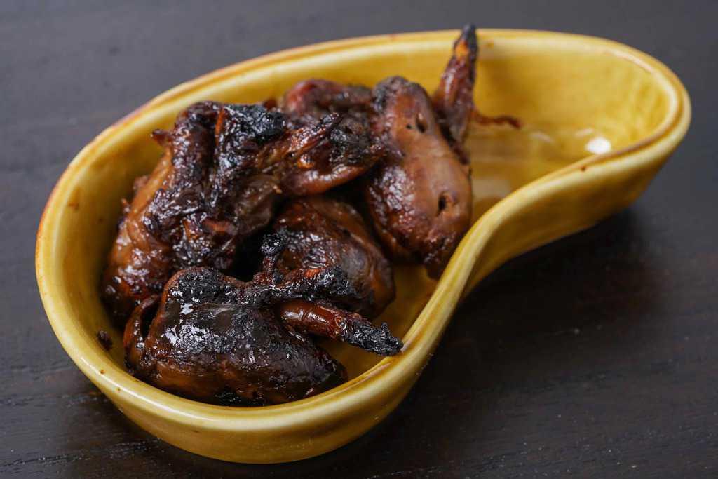 うなぎ屋たむろの鰻の肝焼き、ウナギ肝焼き