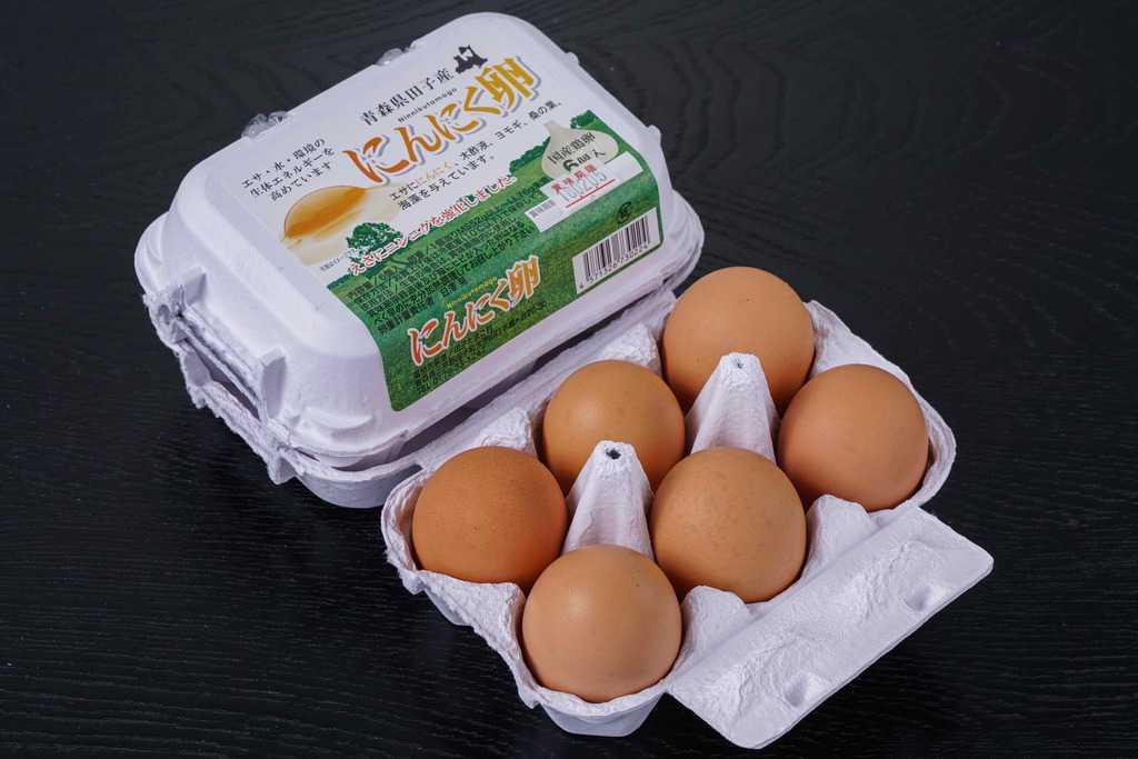 田子たまご村のにんにく卵6個
