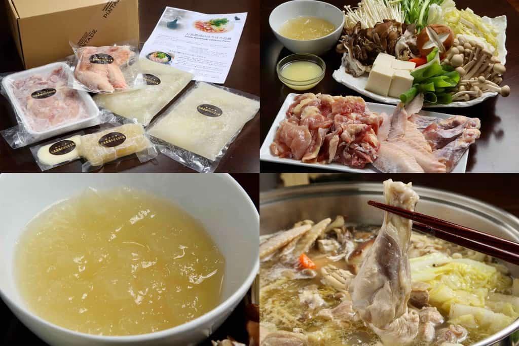石黒農場のほろほろ鳥鍋セット、通販・お取り寄せ鍋料理
