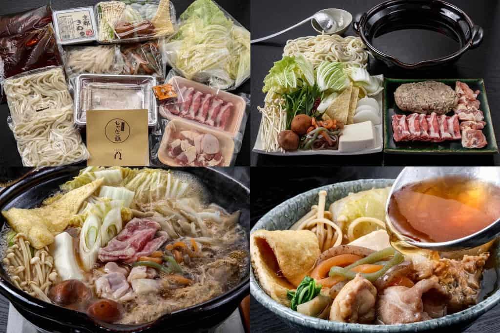 季節料理門の通販醤油ちゃんこ鍋、お取り寄せちゃんこ鍋、鍋料理