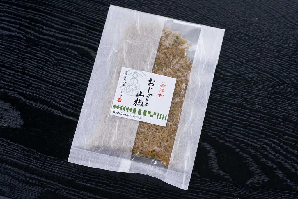 京都ちりめん山椒の専門店華とうのおじゃこと山椒65g、通販・お取り寄せちりめん山椒