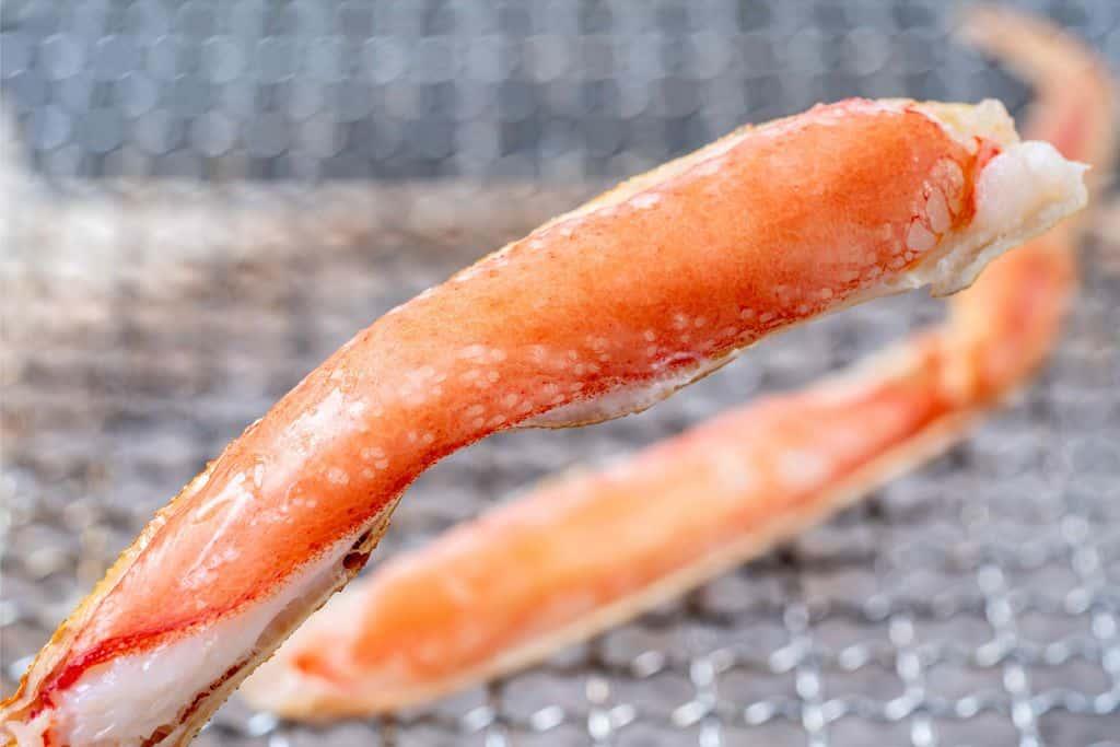 焼きズワイガニ、焼き蟹