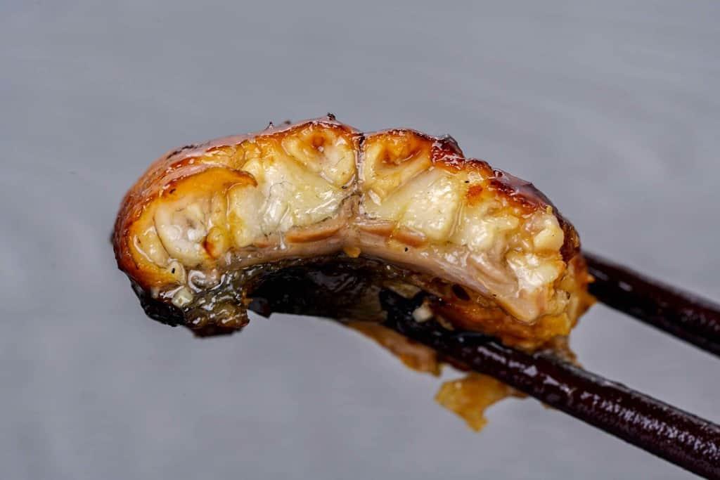 くら寿司の通販うなぎ蒲焼きの断面