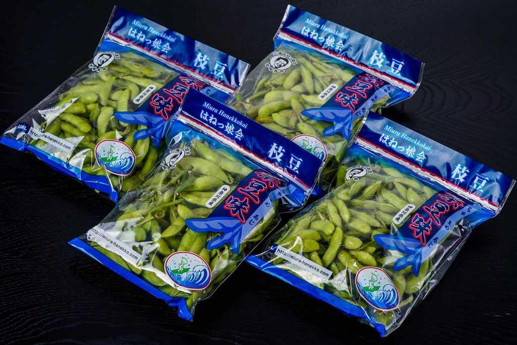 神奈川県三浦半島「はねっ娘会」の枝豆300g×4袋、通販枝豆