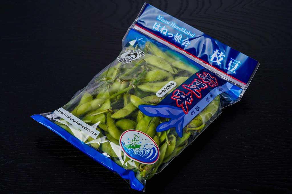 神奈川県三浦半島「はねっ娘会」の枝豆300g×4袋、お取り寄せ枝豆