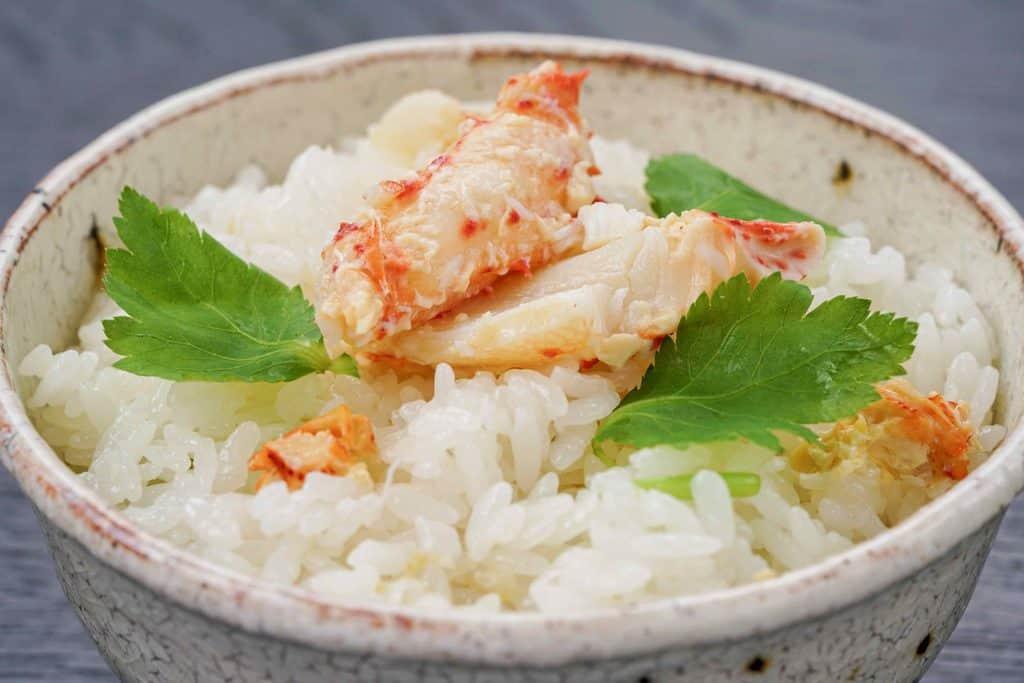 花咲蟹のかに飯、蟹飯、カニ飯