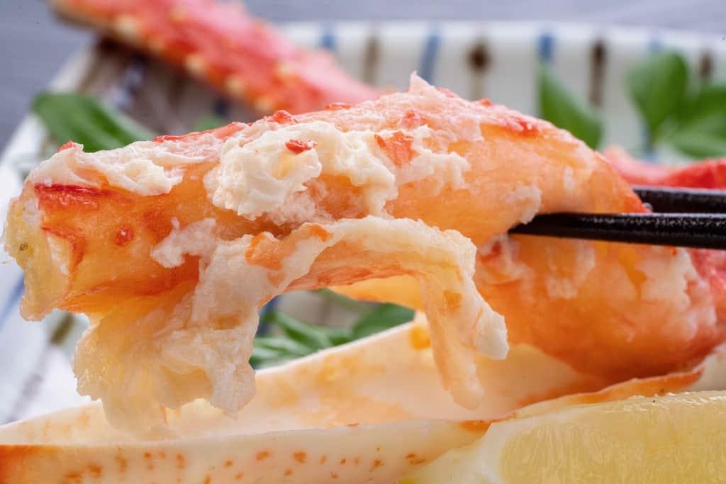 身がプリプリのボイルたらば蟹、海の幸なのにYAMATOの通販タラバガニ
